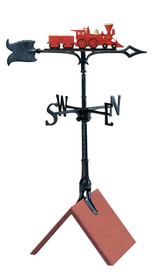 Whitehall 30 Inch Locomotive Color Weathervane