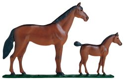 Whitehall Mare And Colt Traditional Weathervane
