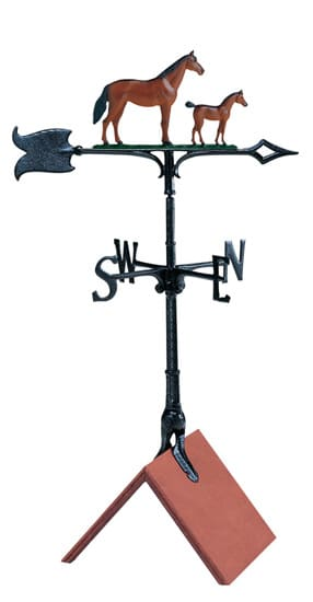 Whitehall 30 Mare Colt Color Weathervane