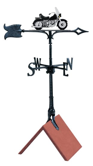 Whitehall 30 Inch Motorcycle Color Weathervane