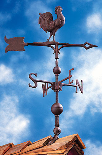 Whitehall 30 Inch Rooster Traditional Weathervane