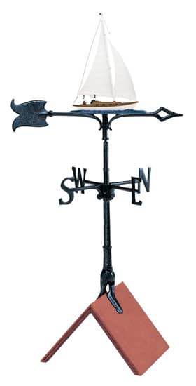 Whitehall 30 Inch Sailboat Color Weathervane