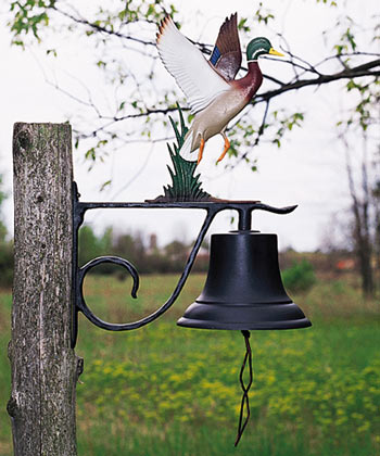 Whitehall Large Country Bell With Topper Product Image