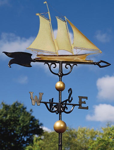 Whitehall 46 Inch Yacht Traditional Weathervane
