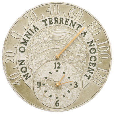 Whitehall Celestial Clock and Thermometer