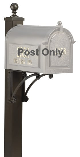 Whitehall Deluxe Mailbox Post