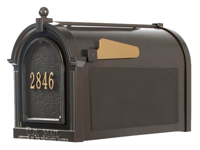 Whitehall Mailboxes Front Address Panel