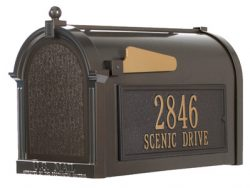 Whitehall Mailboxes Side Address Panel