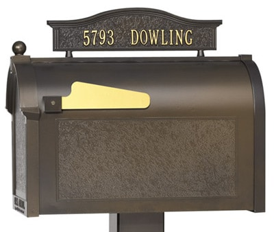 Whitehall Mailboxes Mailbox Topper