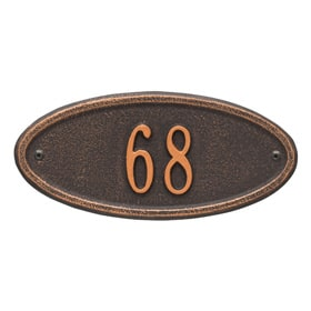 Madison Petite Plaque Oil Rubbed Bronze