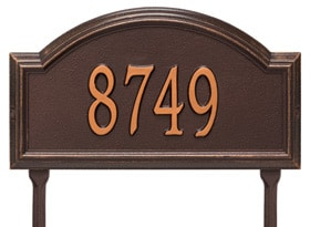 Providence Arch Plaque One Line Standard