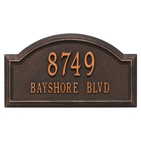 Providence Arch Plaque Oil Rubbed Bronze