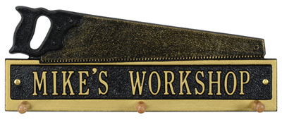 Whitehall Saw Hook Wall Plaque Product Image