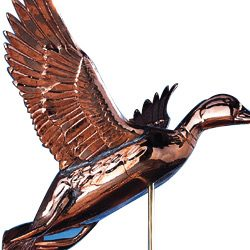 Whitehall Weathervanes Polished Copper