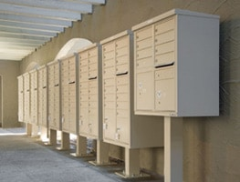 Florence CBU Mailboxes Installed