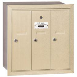 Salsbury 3 Door Vertical Mailbox Sandstone