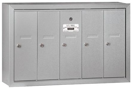 Salsbury 5 Door Surface Vertical Mailbox