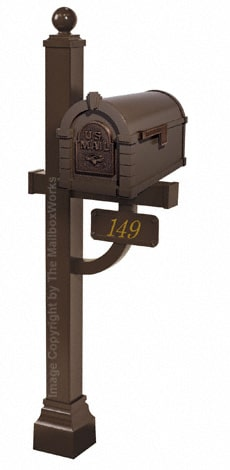 Keystone Eagle Deluxe Post Bronze Antique