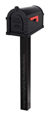 Gaines Keystone Eagle Standard Post Black