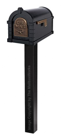 Keystone Eagle Standard Post Black Bronze