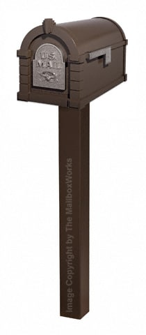 Keystone Eagle Standard Post Bronze Nickel