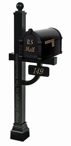 Keystone Signature Deluxe Post Black Bronze