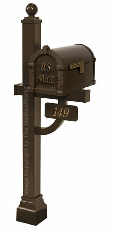 Keystone Signature Deluxe Post Bronze Antique