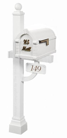 Keystone Signature Deluxe Post White Bronze