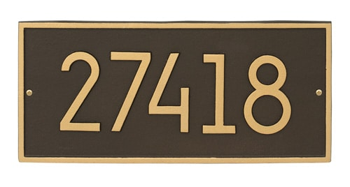Modern Address Plaques and House Numbers