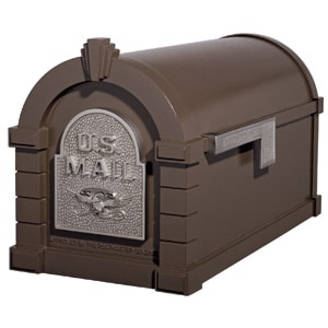Eagle Keystone Mailbox Metallic Bronze Nickel