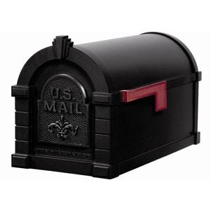 Gaines Fleur Keystone Mailbox All Black
