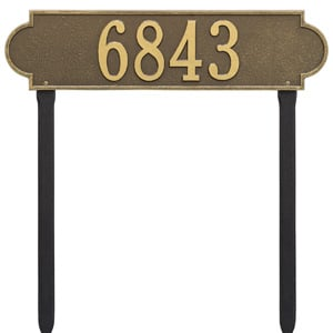 Whitehall Richmond Horizontal Lawn Antique Bronze