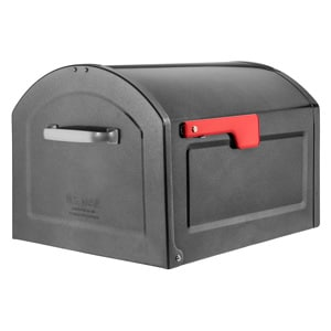 Centennial Post Mount Mailbox Pewter
