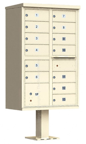 13 Door Cluster Mailboxes by Auth Florence
