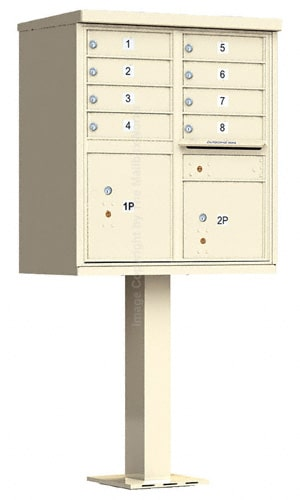 8 Door Cluster Mailbox Unit by Florence Mfg