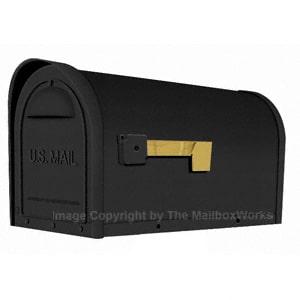 Special Lite Classic Mailbox Black