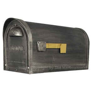 Special Lite Classic Mailbox Swedish Silver