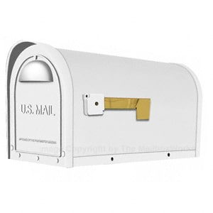 Special Lite Classic Mailbox White