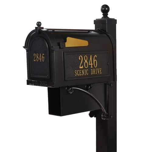 Whitehall Estate Mailbox Package Product Image
