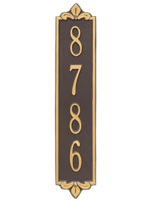 Whitehall Lyon Vertical Plaque Standard Size