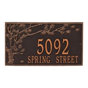 Spring Blossom Plaque Oil Rubbed Bronze