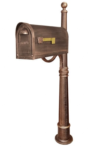 Special Lite Classic Mailbox with Ashland Post