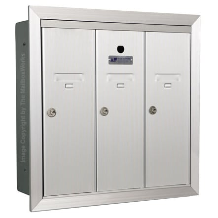 3 Door Vertical Mailboxes