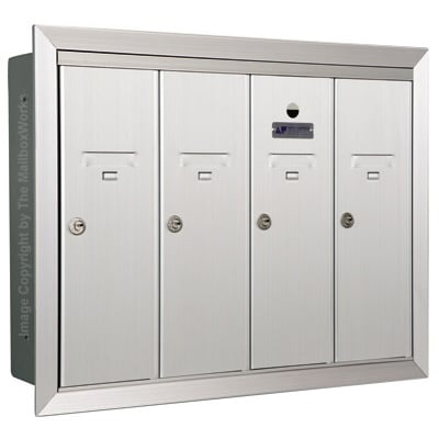 4 Door Vertical Mailboxes
