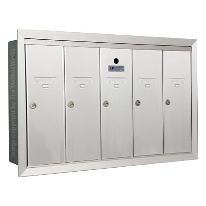 5 Door Vertical Mailboxes