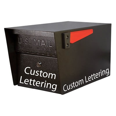 Mail Manager Pro Mailbox Custom Lettering