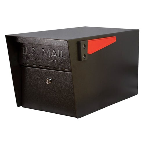 Mail Manager Pro Post Mount Locking Mailbox