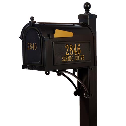 Whitehall Custom Mailbox and Post Package for Sale