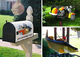 Unique Mailboxes Featured Image