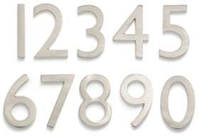 Architectural Mailboxes Laguna 4 Inch House Numbers